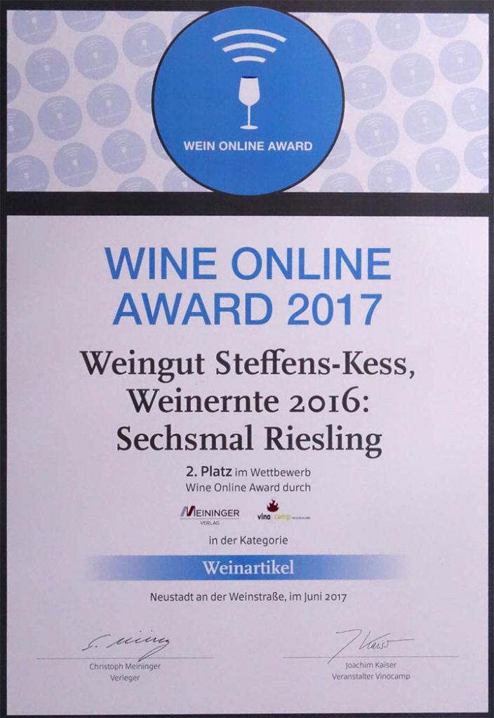 2017-06-17 Wine Online Award