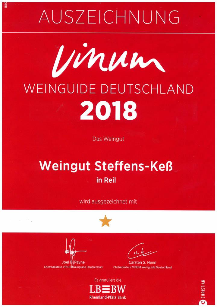 2018 VINUM Weinguide