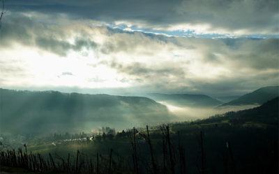 Nebelspiele und Lichtmalerei